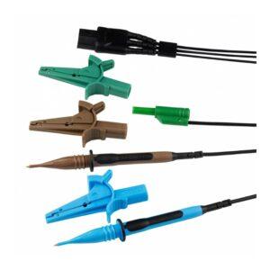 Kewtech ACC016E Three Wire Fused Distribution Board Lead Set