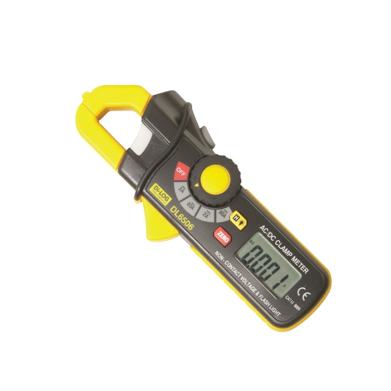 Di-Log DL6506 Mini 80 Amp AC/DC Clamp Meter