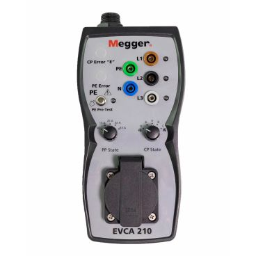 Megger EVCA210-UK Electric Vehicle Charge-Point Adapter