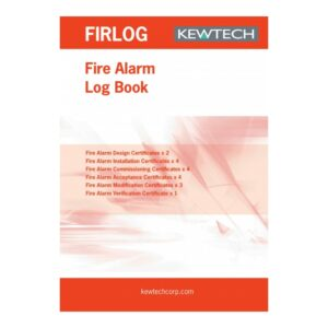 Kewtech FIR1LOG Fire Alarm Log Book