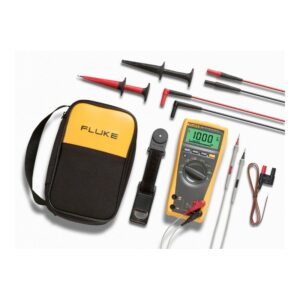 Ideal for electricians and those working in industrial environments, this special kit version of the Fluke 179/EDA2/EUR Digital Multimeter Combo Kit includes everything you'll need for basic electrical testing.