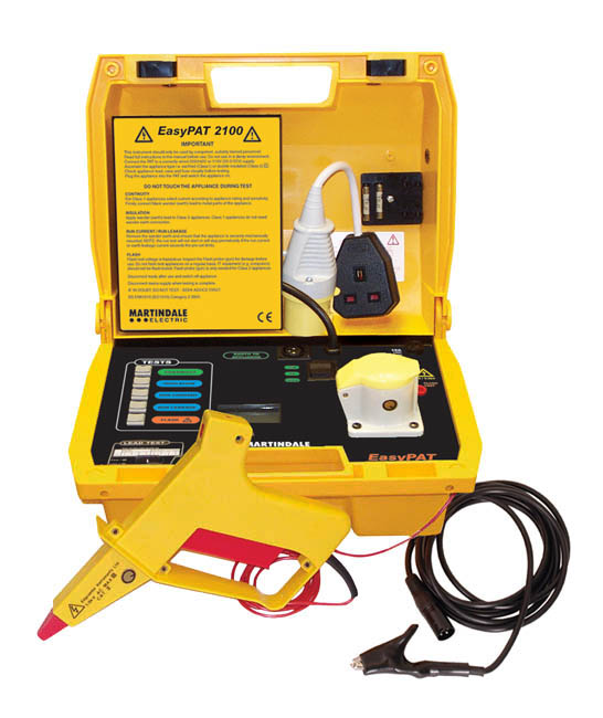 Martindale EPAT2100 Dual Voltage Manual PAT Tester