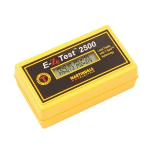 Martindale EZ2500 Non-Trip Earth Loop Impedance Tester