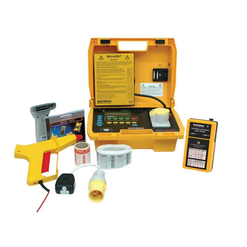 Martindale MicroPAT n Go - Downloadable PAT Testing Kit