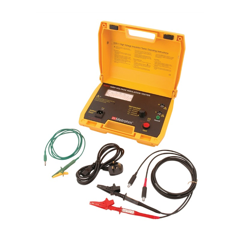 Martindale Metrohm E3511 5kV Analogue Insulation Tester