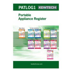 Kewtech PATLOG1 PAT Testing Log Book