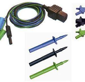 Metrel S2038 (TEK119) 3 Wire Test Lead Set