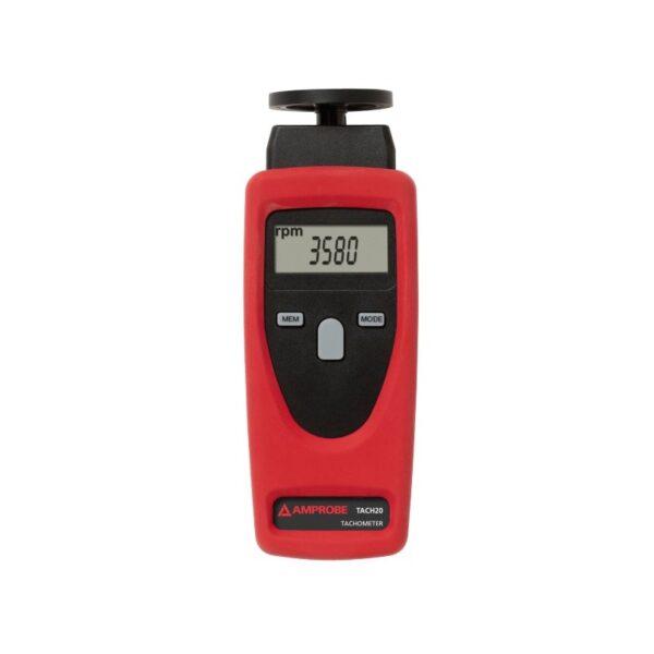 Amprobe TACH20 Contact and Non-Contact Tachometer
