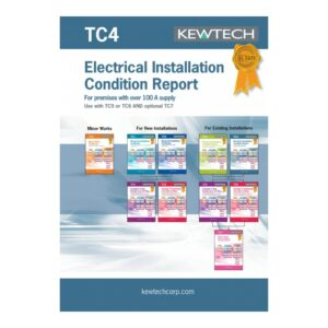 Kewtech TC4 Electrical Installation Condition Report