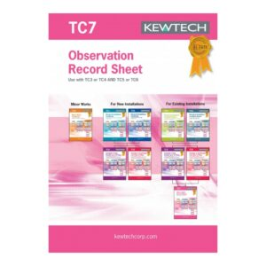 Kewtech TC7 Observation Test Book